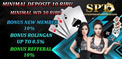 Judi Poker Deposit 10rb Online